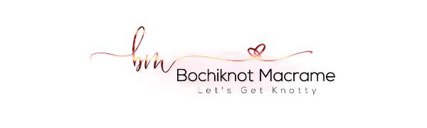 Bochiknot Macrame+Cord+WallHanging+Planthanger+3mm+4mm+SingleStrand