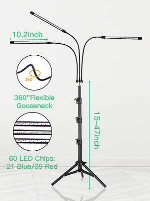 grow light with timmer