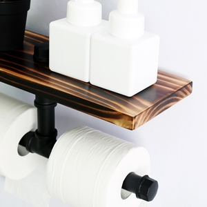 farmhouse indutrial rustic tp holder