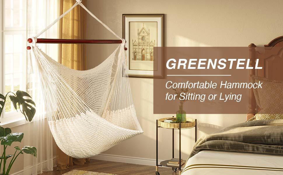 greenstell large hammock hanging chair