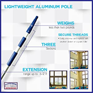 extendable pole duster cobweb webster