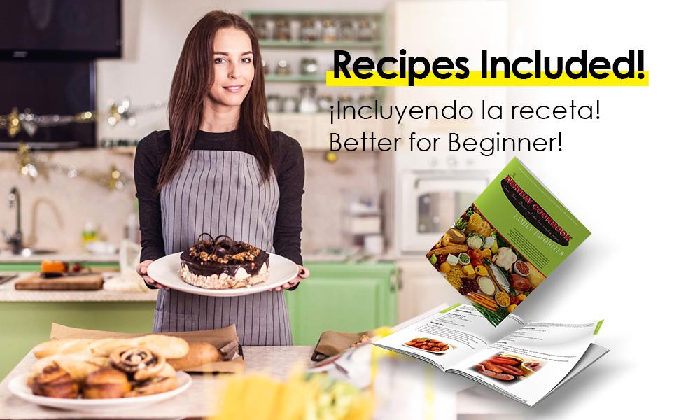 sanlida stand mixer recipes inclubed
