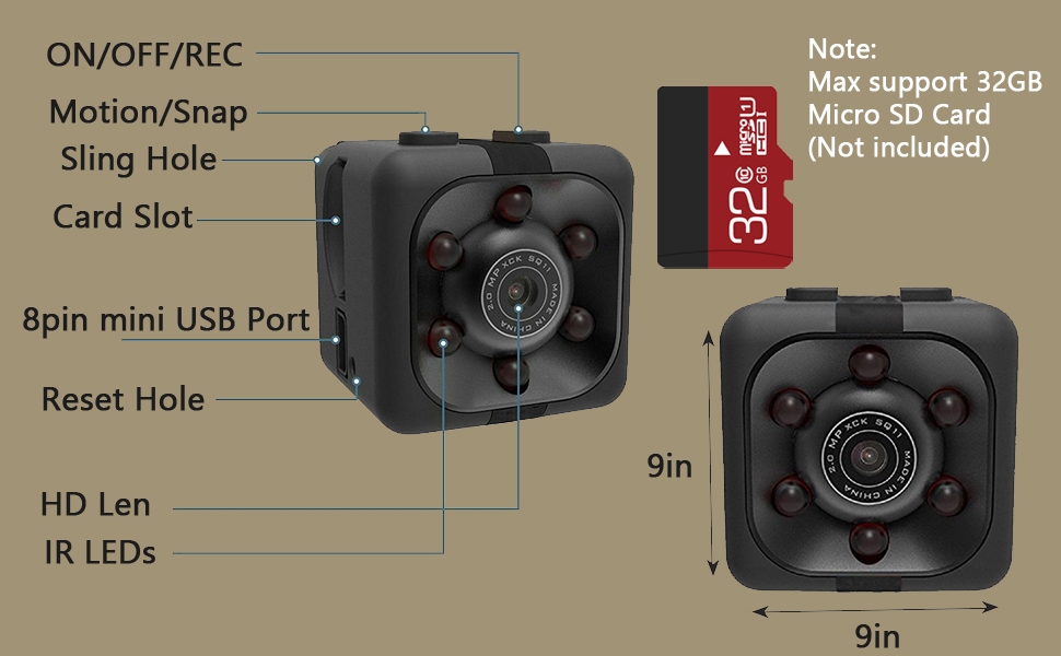 Flashandfocus.com ed630676-475b-4035-bd66-515b4f22ed67.__CR0,0,970,600_PT0_SX970_V1___ Mini Wireless 1080P Security Camera Motion Activated Small Indoor Outdoor Nanny Cam for Cars Home Apartment (Exclude SD…