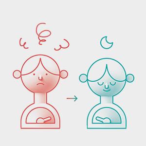 sleep insomnia light blue meditation hypnosis dodow relaxation