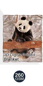3d digital printed blanket