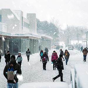 Winter snow boots for women men