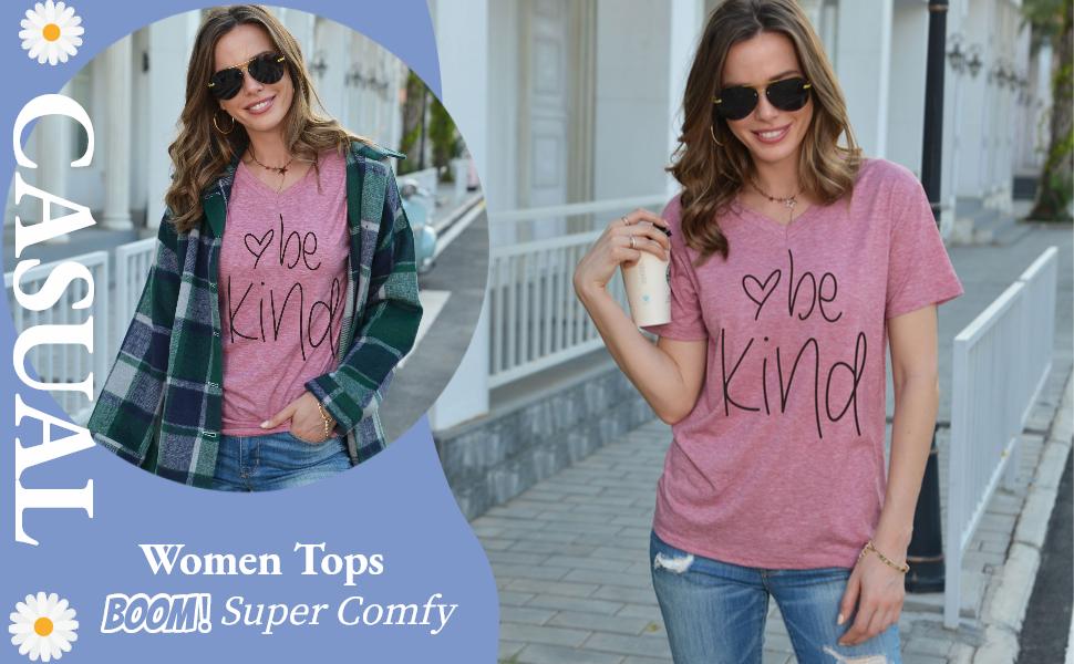 Women Summer T shirts