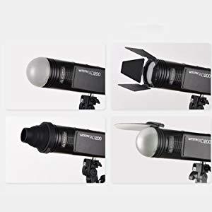 Godox AK-R1 Kit de accesorios para flash de cabeza redonda Nikon Flashpoint