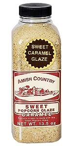 Amish Country Popcorn Sweet Caramel Glaze