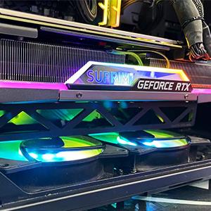 fourth level manufacturing laser cut gpu brace graphics card support brace atlas brace anti sag