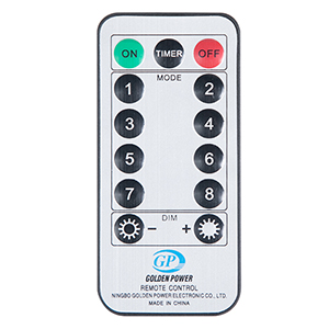 remote control string lights