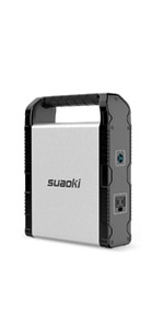 Amazon Com Suaoki Portable Power Station 150wh 100w