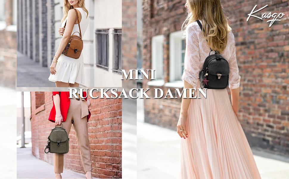 kasgo mini rucksack damen