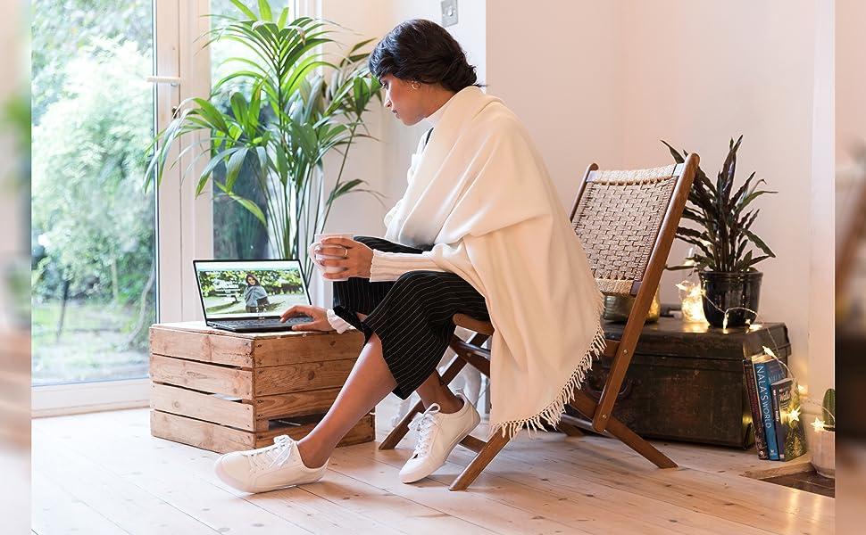 sciarpa donna invernale grande sciarpe invernali stola cerimonia scialle mantella lana elegante