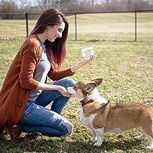 Valerio Organic Dog Hemp Chews 90ct USDA Organic Hemp Oil Chamomile Calming Aid Joint Hip Pain Calm