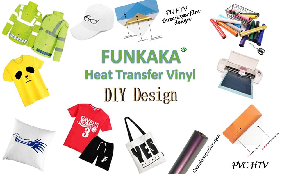 FUNKAKA Fluorescent HTV1