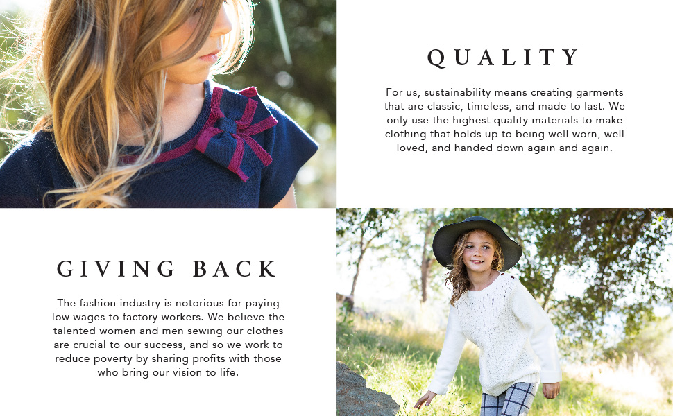 Hope /& Henry Girls Button Front Overall with Cross Back Detail