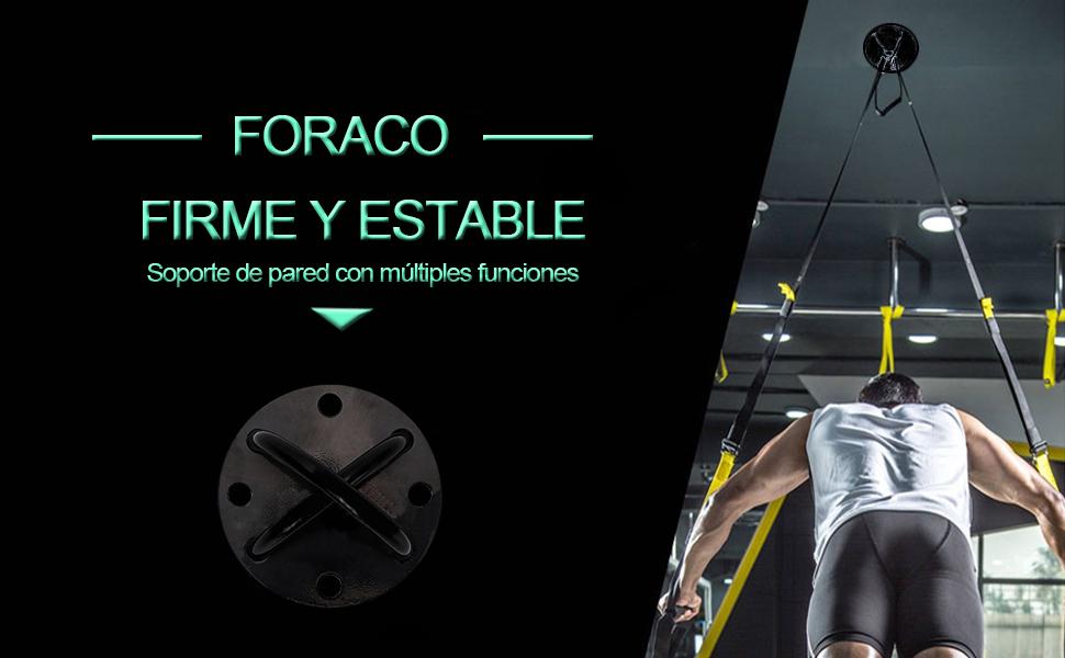Foraco Anclaje Pared, Soportes para Hamacas y Columpios ...