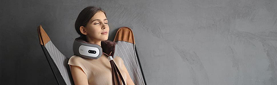 breo ineck 3 neck massager is the perfect way to weave your tiredness