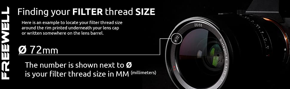 Freewell Magnetic Quick Swap System 112mm Netural Density ND64 (6 f-Stops) Camera Filter