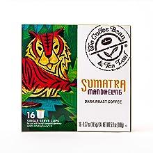 Sumatra Mandheling Single Serve Kcups