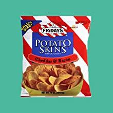 Chips and Popcorn TGI Fridays Potato Skin Chips Pringles Pirate Booty Gardetto's Corn Nutz