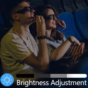 Screen brightness adjustment
