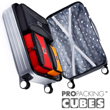 packing cube for compessiion space savers large medium small slim waterproof mesh cubes