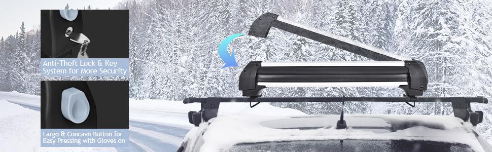 ski roof rack