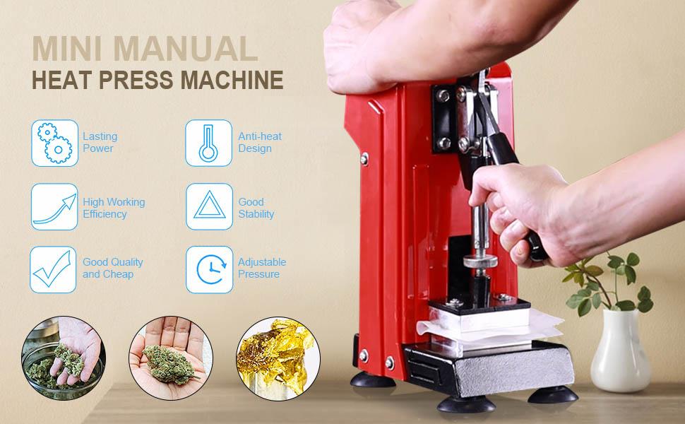 mini heat presser