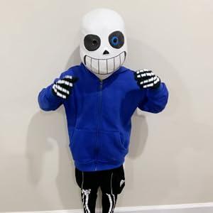boys blue hoodies size 6