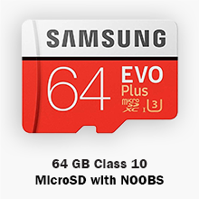Samsung 64 GB EVO+ MicroSD Card