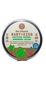 all natural sunscreen  biodegradable sunscreen  certified natural sunscreen clean plastic sunscreen