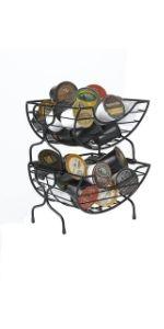 coffee pod storage rack