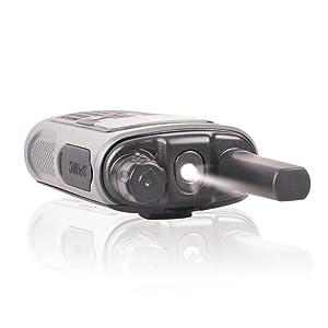 Falshlight walkie talkies