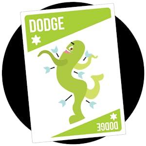 dodge card, bruhaha card game, premium quality game