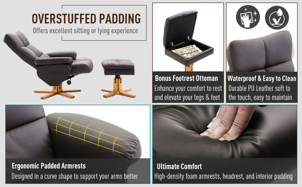 overstuffed padding
