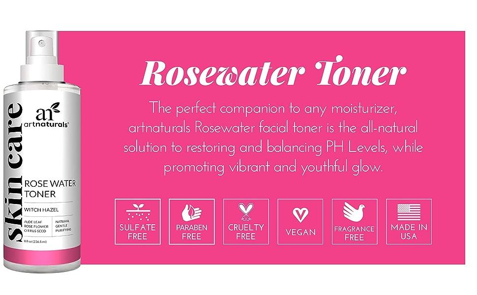 Rosewater Witch Hazel Toner