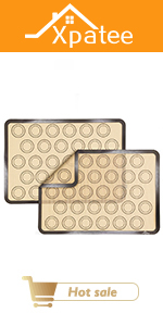 Baking Mats with Cookie Molds