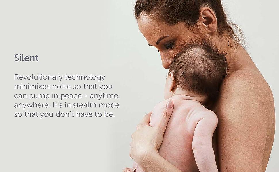silent, quiet, pump, elvie, breast pump, baby, bottle, elvie, willow, new mom, baby care, feeding,
