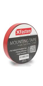 "Acrylic Mounting Tape Gray - 1"" x 450"""