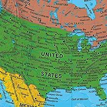 Parlamondo Talking Globe USA Map Example