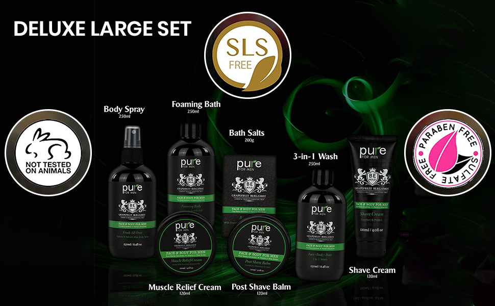 deluxe luxury large gift set for him