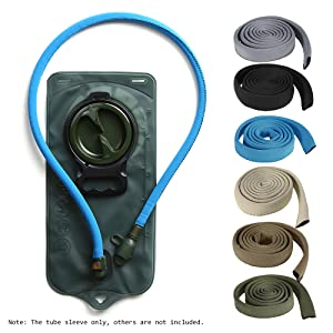 Lixada Water Bladder Tube Cover Hydration Tube Sleeve Insulation Hose Cover Thermal Drink Tube Sleeve Cover