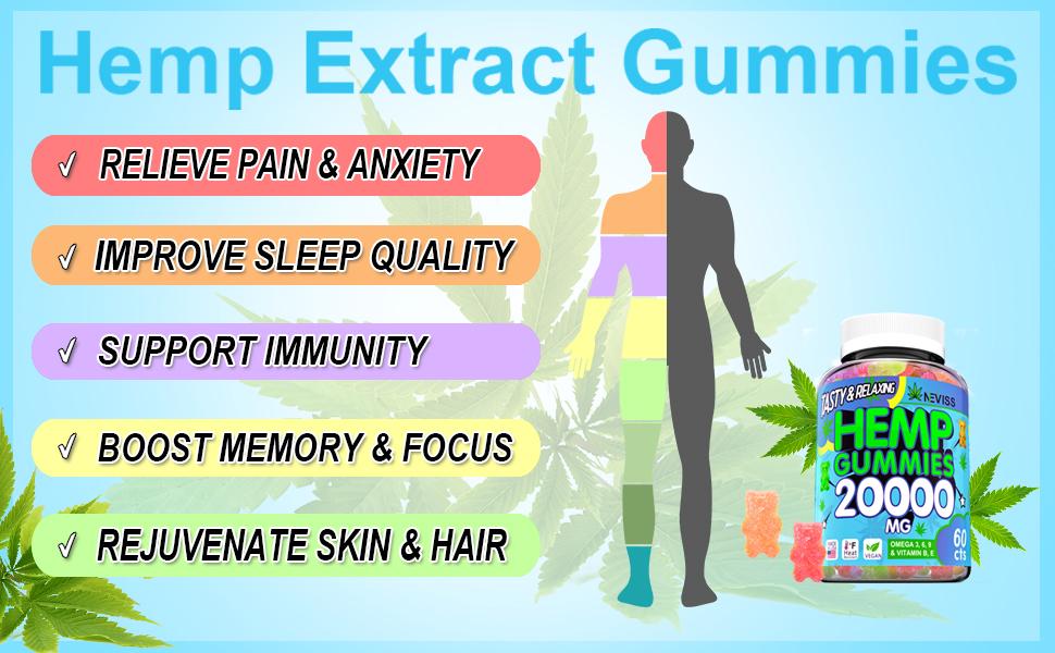 pain relief gummies
