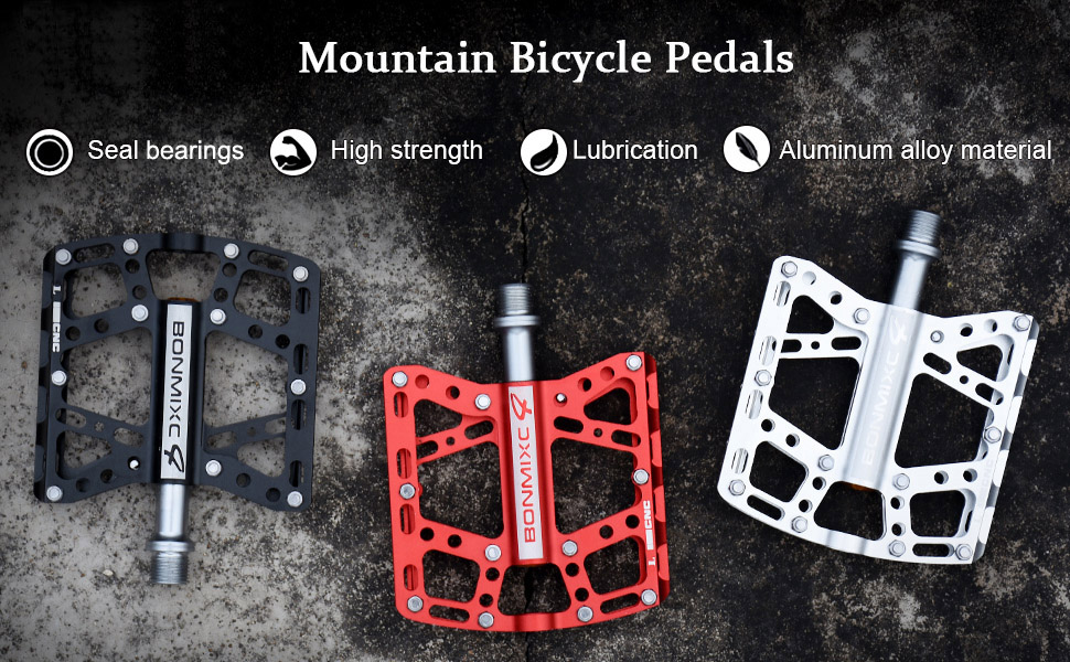 """Bike Replacement Spare  Pedals 1//2/"""" Alloy with Comfort Tread"""