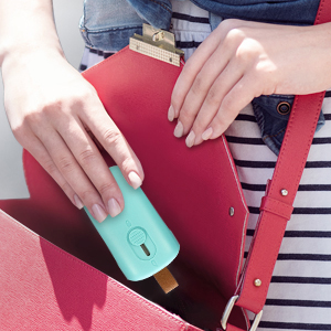 Mini sellador de bolsas de plástico