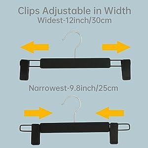 adjustable clips