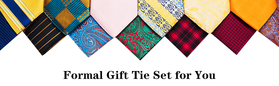 Mens Formal Tie Set