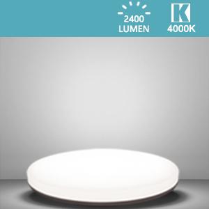 Led-plafondlamp, geen vlakke